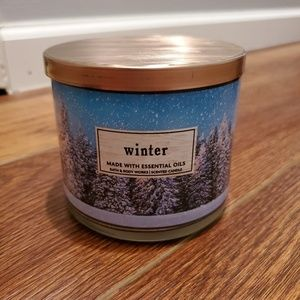Brand new 3 wick winter bath & body works candle